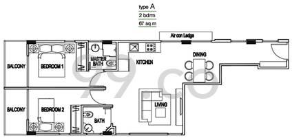 Eis Residences - Configuration A