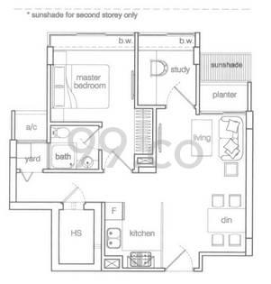 Emprado Suites - Configuration A