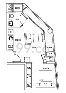 Farrer Park Suites - Configuration E