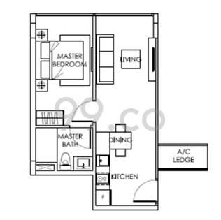 The Citron Residences - Configuration A21