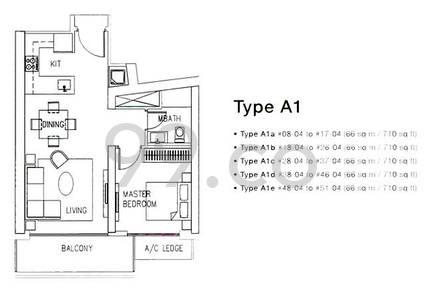 Marina Bay Residences - Configuration A1