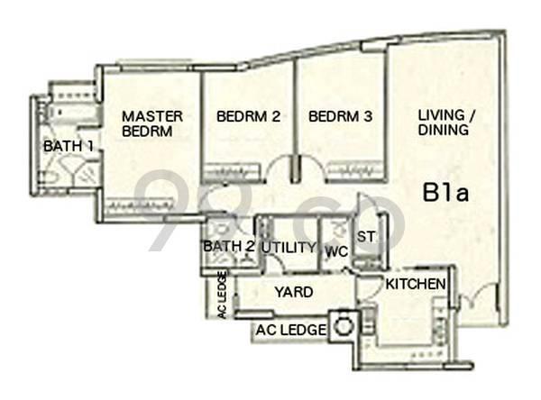 Haig Court - Configuration B1a