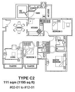 Lilydale - Configuration C2