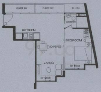 R66 Apartments - Configuration A1