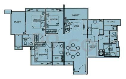 Ritz Regency - Configuration A
