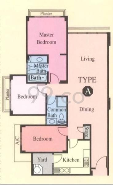 Woodgrove Condominium - Configuration A