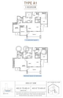 Sunnyvale Residences - Configuration A1
