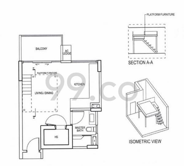 Euhabitat - Configuration SA1b