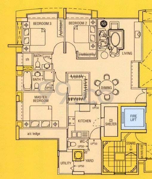 Kim Keat Gardens - Configuration A