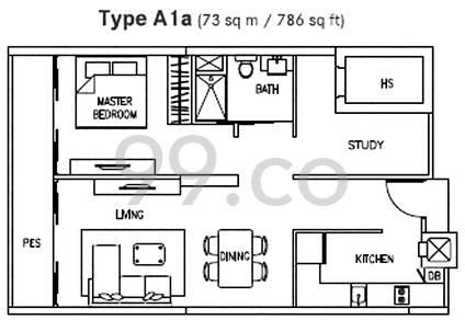 Luxe Ville - Configuration A1a
