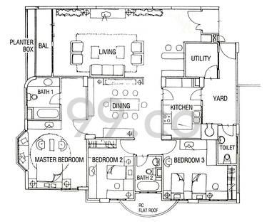 Casa Esperanza - Configuration A