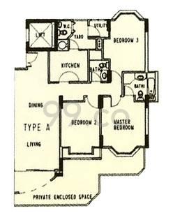 Westcove Condominium - Configuration A