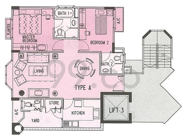 Fairmount Condominium - Configuration A