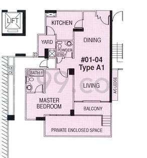 Regent Heights - Configuration A1