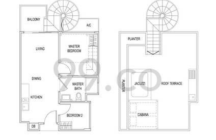Jade Residences - Configuration A1P