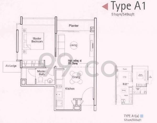 Parc Emily - Configuration A1