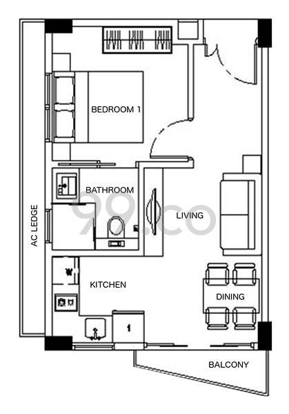 448 @ East Coast - Configuration A