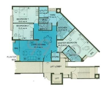 Ritz Mansions - Configuration B