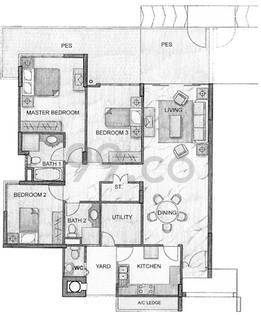 Carissa Park Condominium - Configuration B1