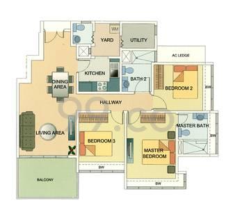 Coastal View Residences - Configuration A
