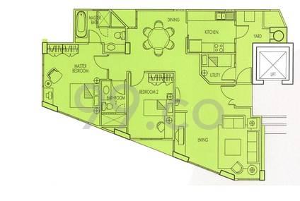 Jervois Jade Apartments - Configuration A