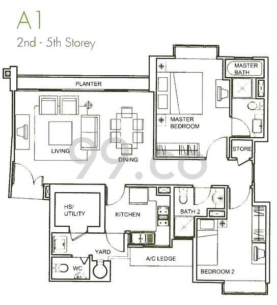 Amaranda Gardens - Configuration A1