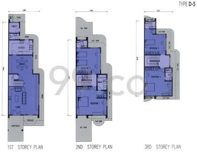 Bartley Villas - Configuration DS