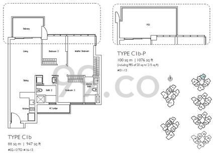 Lakeville - Configuration C1bP