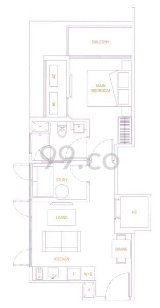 Va Residences - Configuration A