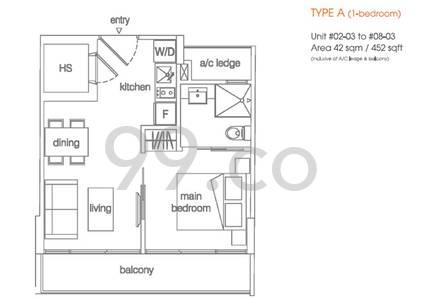 Centra Suites - Configuration A