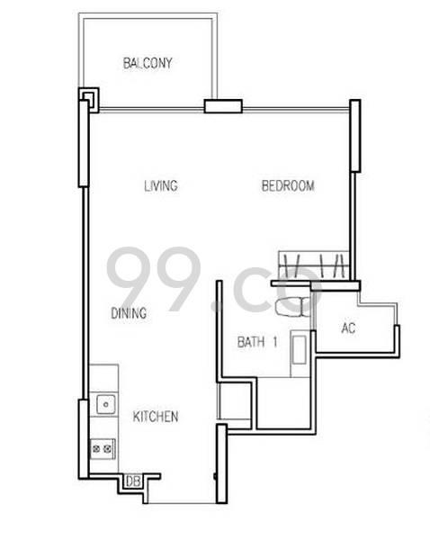 Hillion Residences - Configuration A1