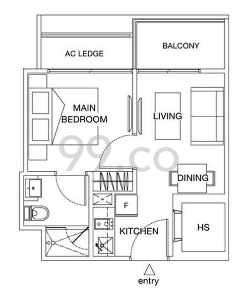 Suites @ Topaz - Configuration A