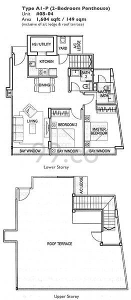 Atrium Residences - Configuration A1P
