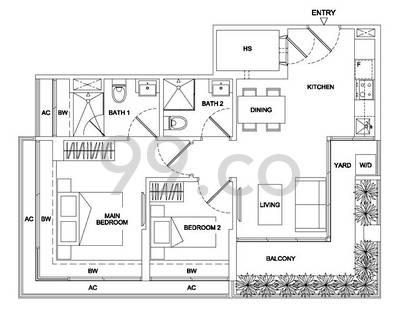 Regent Residences - Configuration A1