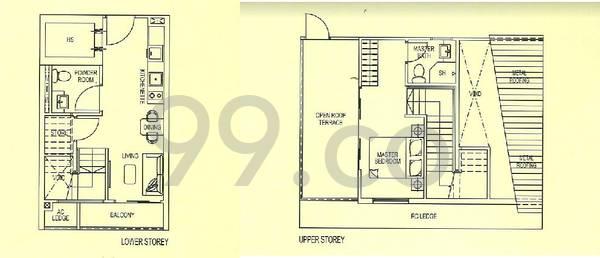 Suites At Bukit timah - Configuration L1PH