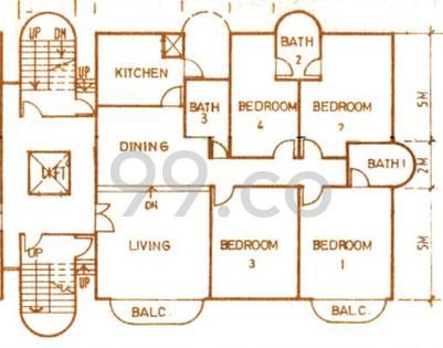 Giffard Mansion - Configuration A