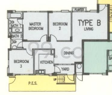 Ebony Mansions - Configuration B