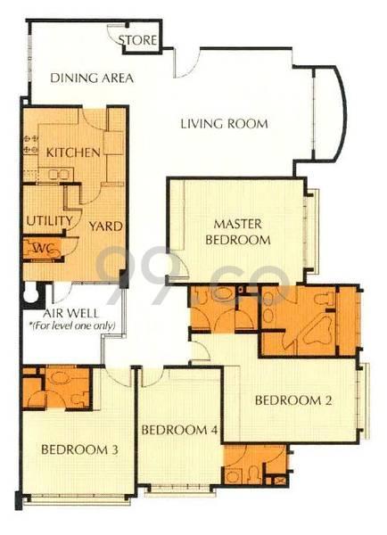 Shangri La Residences - Configuration A1