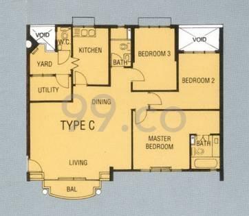 Royal Palm Mansions - Configuration C