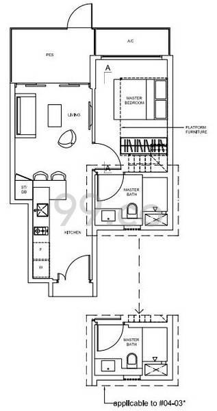 Nine Residences - Configuration A1G