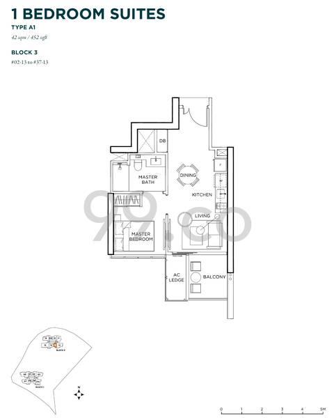 Gem Residences - Configuration A1