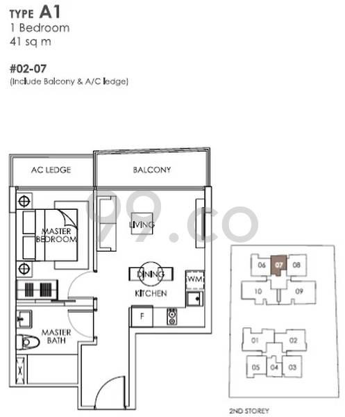 The Bently Residences @ Kovan - Configuration A1