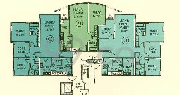 Central Green Condominium - Configuration A1