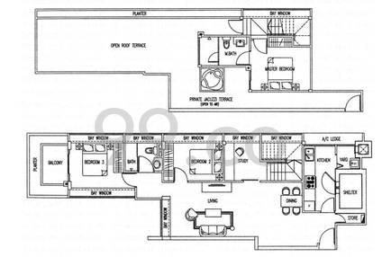 Espira Residence - Configuration A1