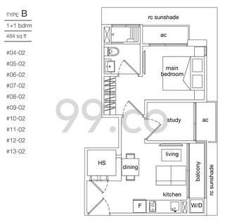 Leicester Suites - Configuration B