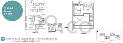 Eight Riversuites - Configuration A34
