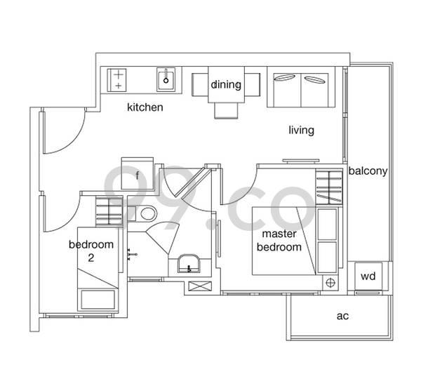 Qube Suites - Configuration A