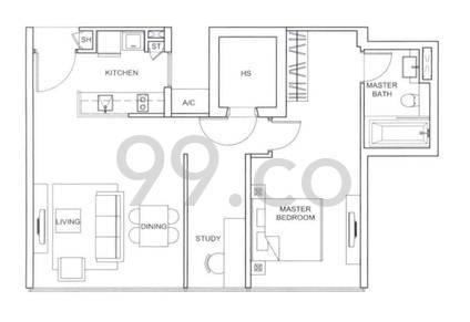 Wilkie Studio - Configuration A1