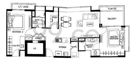Jubilee Residence - Configuration B1