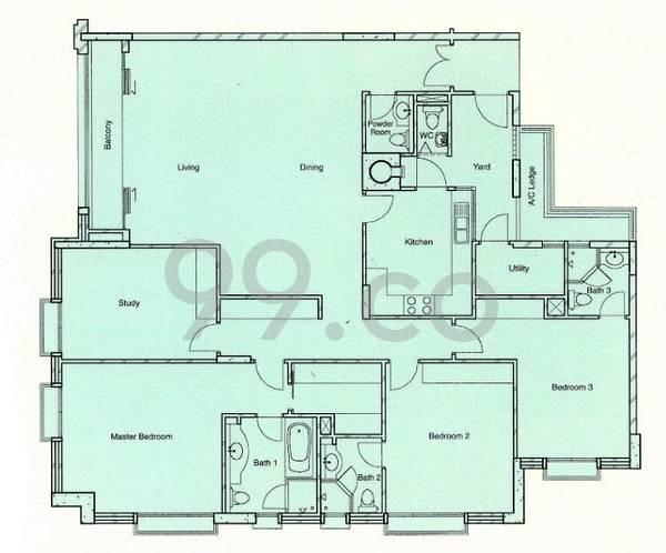 Balmoral Residences - Configuration A